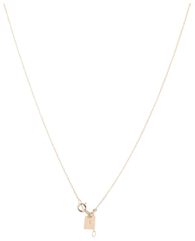 Halskette aus Roségold Milky Way GINETTE NY