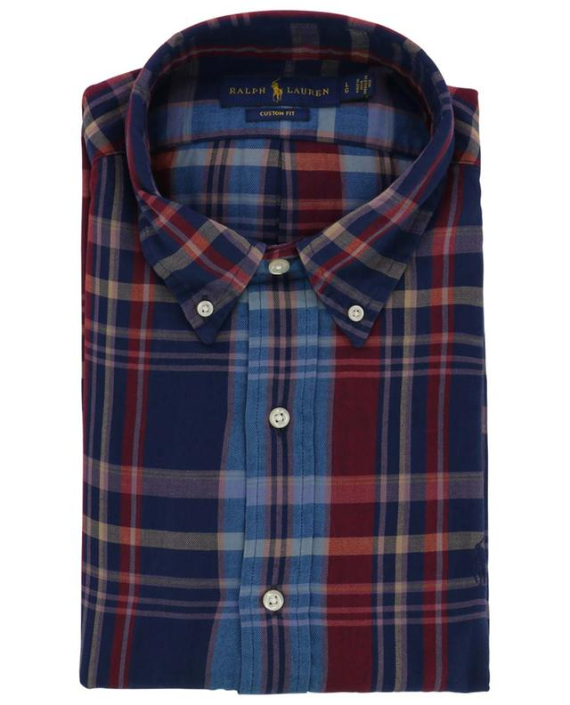 Chemise à carreaux en flanelle fin M Classics Custom Fit POLO RALPH LAUREN