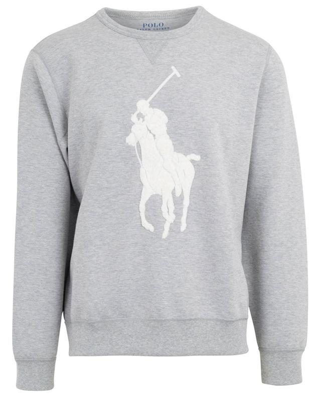 Pony logo cotton blend sweatshirt POLO RALPH LAUREN
