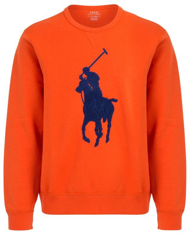 Pony logo cotton blend sweatshirt POLO RALPH LAUREN