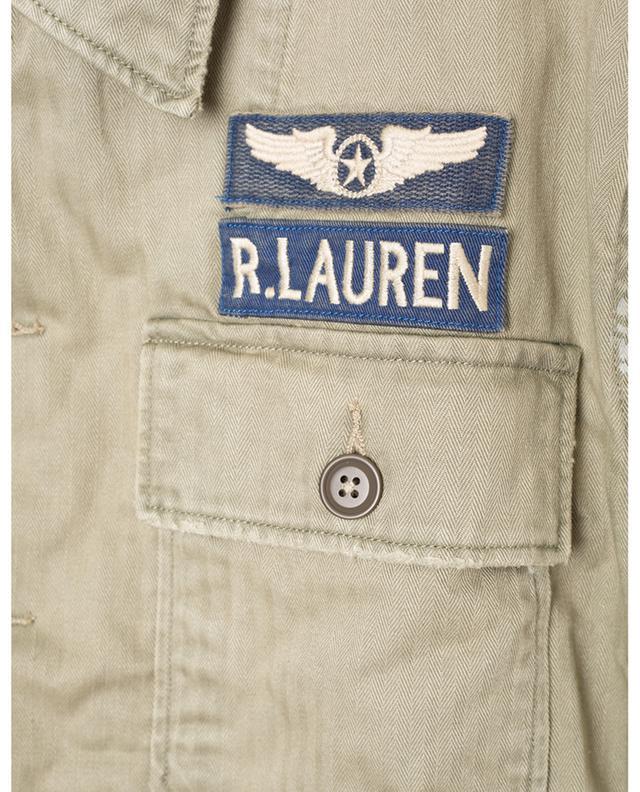 Veste en coton brodée d'écussons POLO RALPH LAUREN