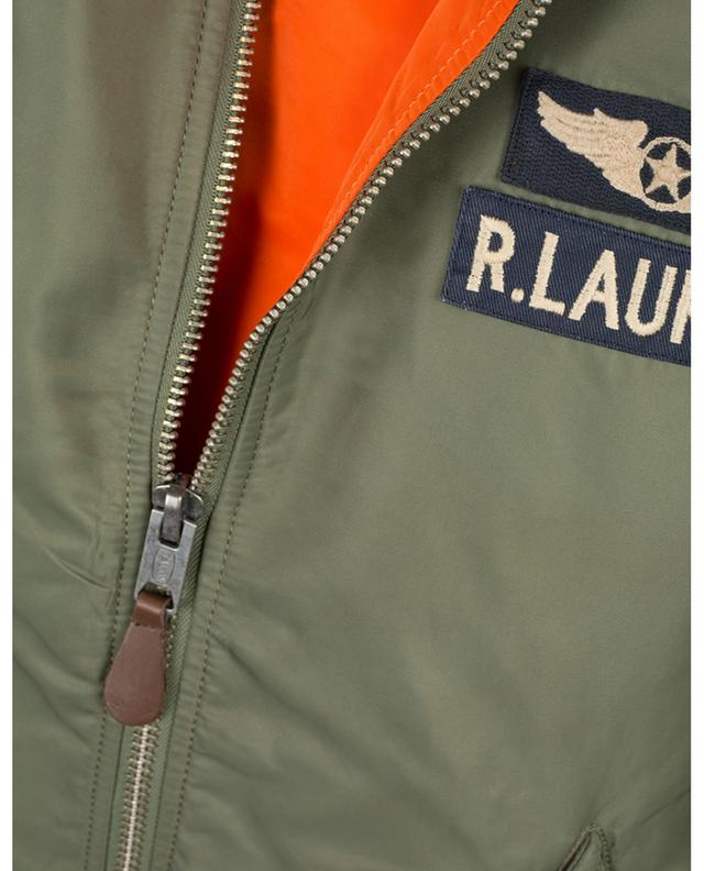 Classic patches embroidered bomber jacket POLO RALPH LAUREN