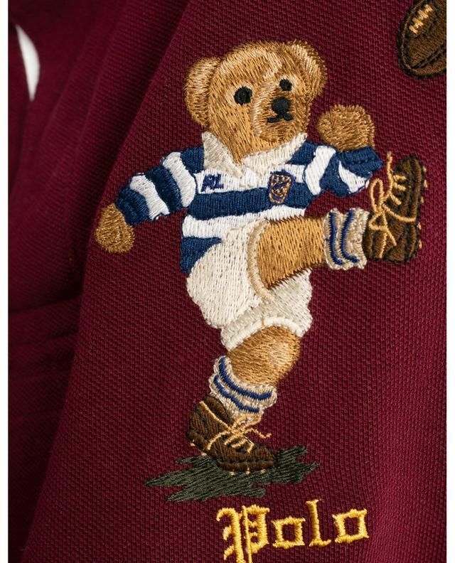 Polo en coton piqué avec ours brodé POLO RALPH LAUREN