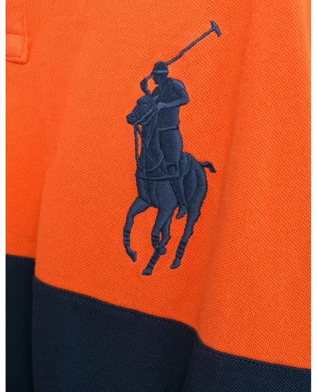 SSL patches embroidered cotton piqué polo shirt POLO RALPH LAUREN