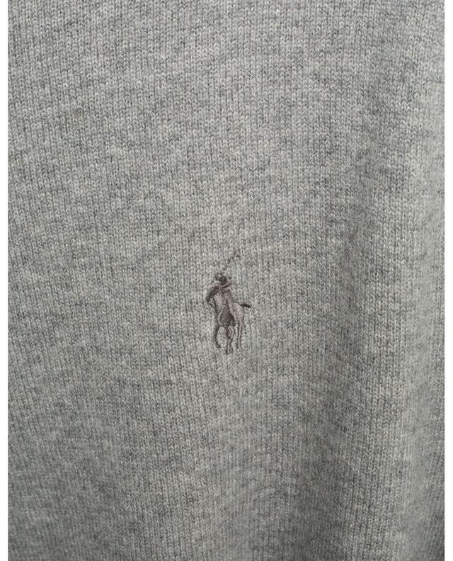 Pull col rond en laine mérinos logo brodé POLO RALPH LAUREN