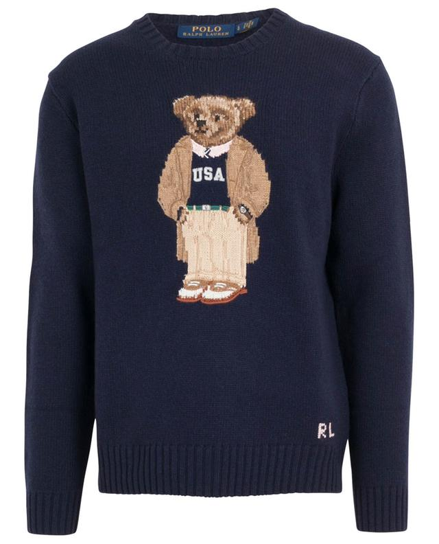 Pullover aus Wolle Collegiate Bear POLO RALPH LAUREN