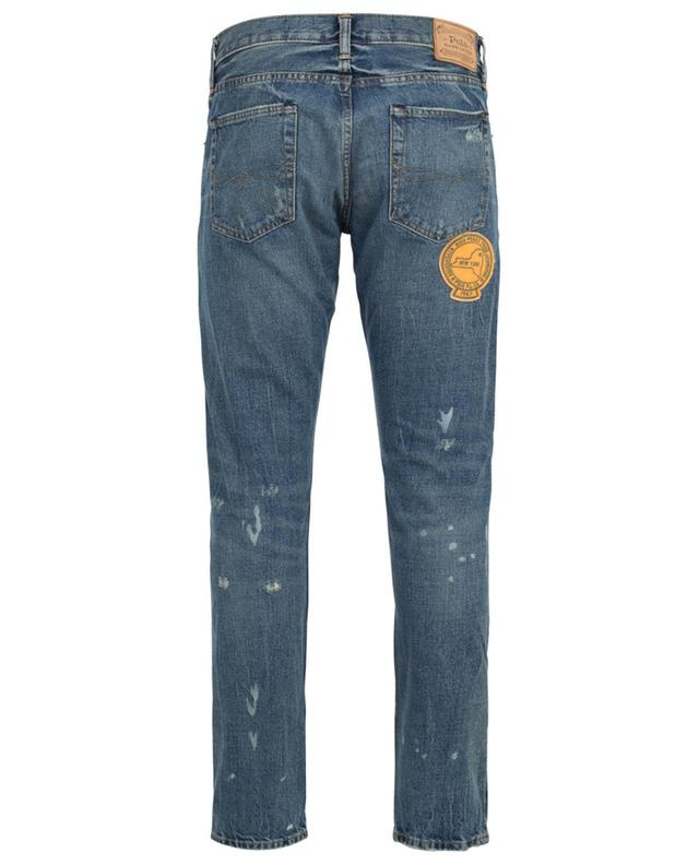 Sullivan distressed slim fit jeans with rips and patches POLO RALPH LAUREN