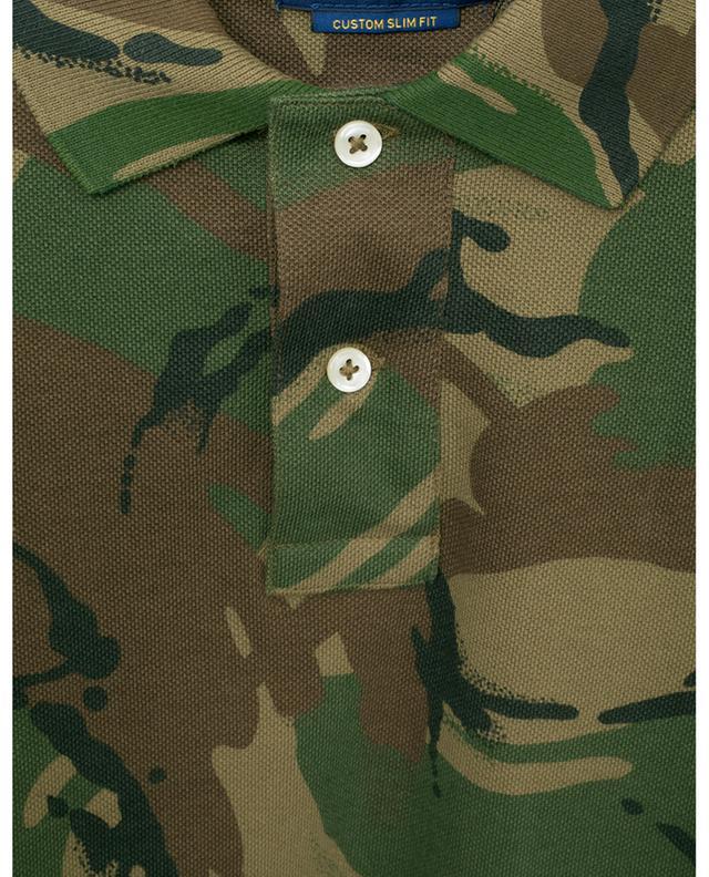 Polo en coton motif militaire POLO RALPH LAUREN