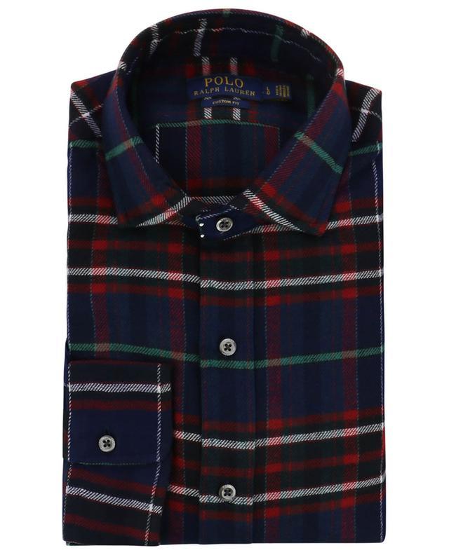 Chemise à carreaux en flanelle Custom Fit Holiday POLO RALPH LAUREN