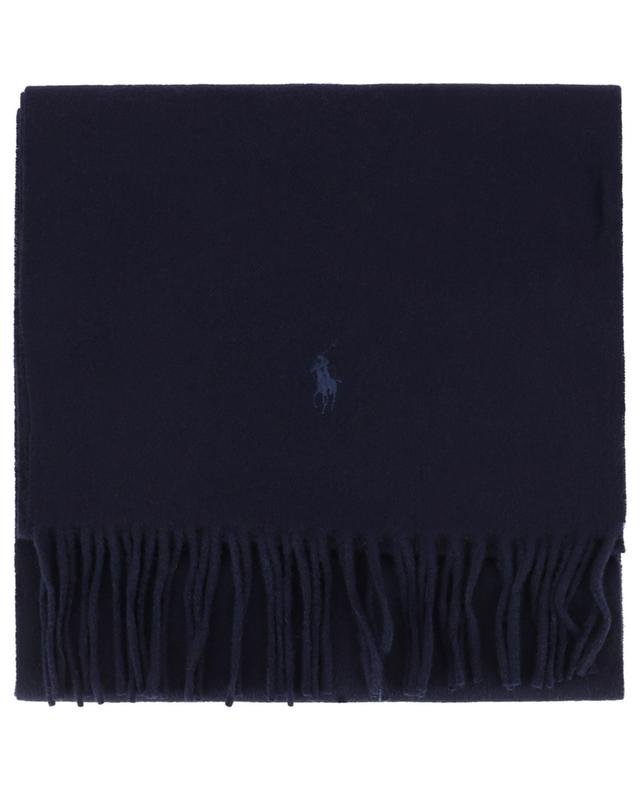 Polo M Classics embroidered cashmere scarf POLO RALPH LAUREN