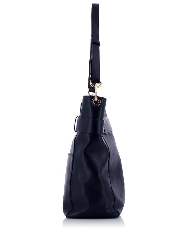 Grand sac à main en cuir lisse Hobosquare Iris VANESSA BRUNO