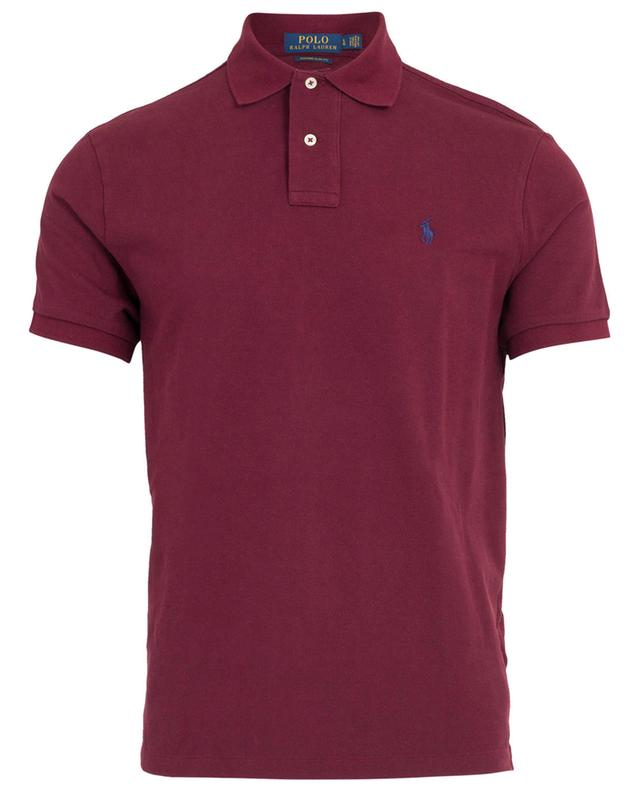Polo en coton piqué avec logo brodé POLO RALPH LAUREN