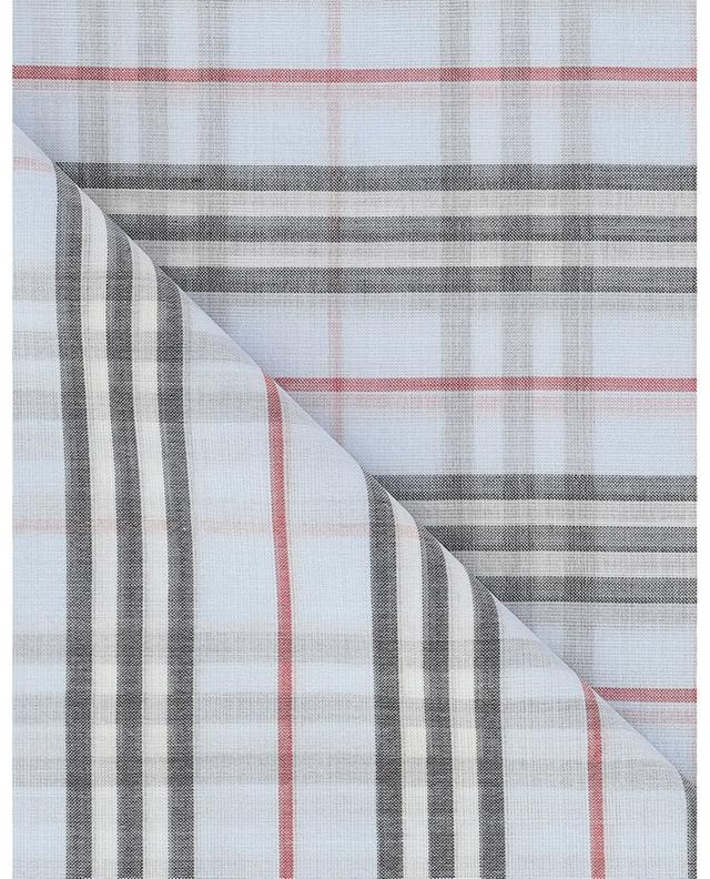 Lightweight check wool and silk shawl BURBERRY