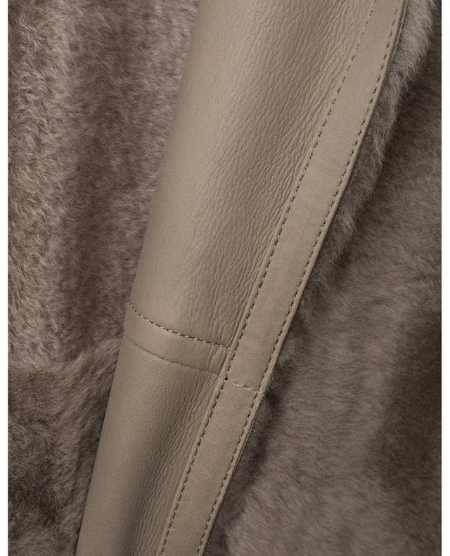 Manteau réversible en peau lainée Roc YVES SALOMON