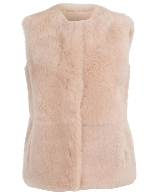 Reversible shearling vest YVES SALOMON