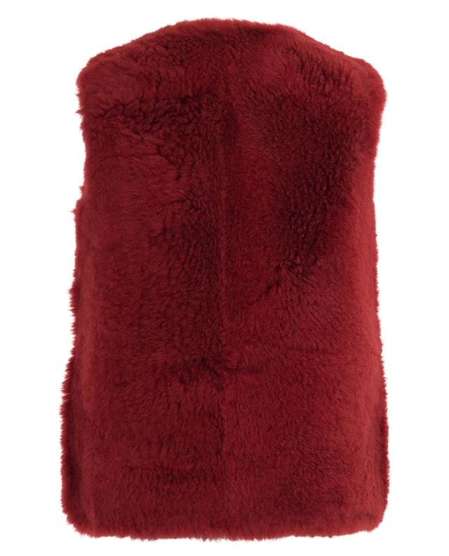 Reversible shearling vest YVES SALOMON