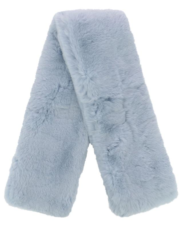 Short rabbit fur scarf YVES SALOMON