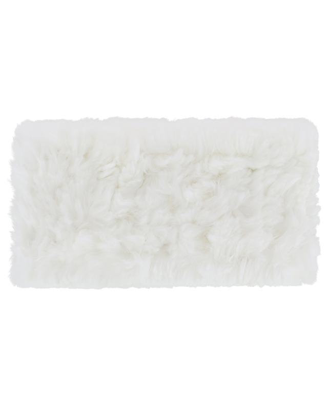 Rabbit fur headband YVES SALOMON