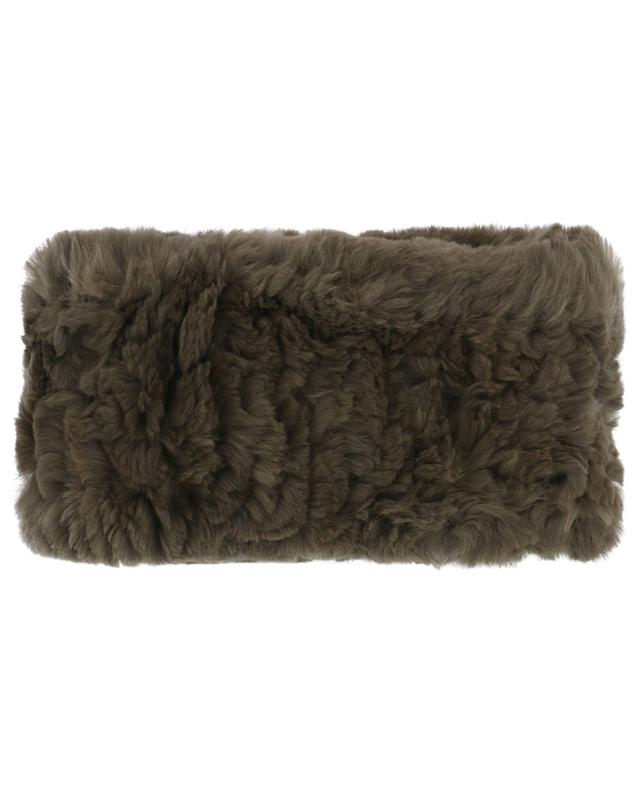 Rabbit fur headband YVES SALOMON