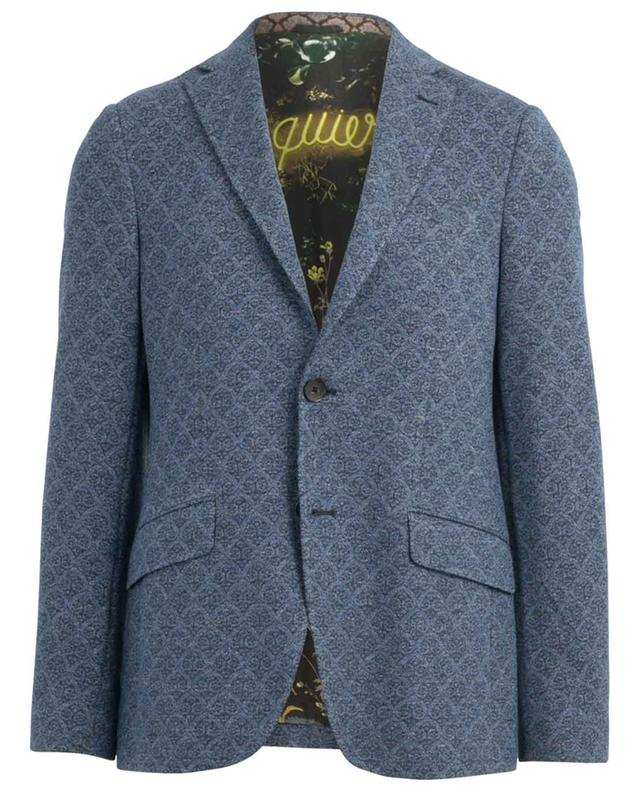 Jersey-Blazer mit Arabeskenmotiv ETRO