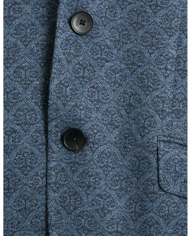 Arabesque design jersey blazer ETRO