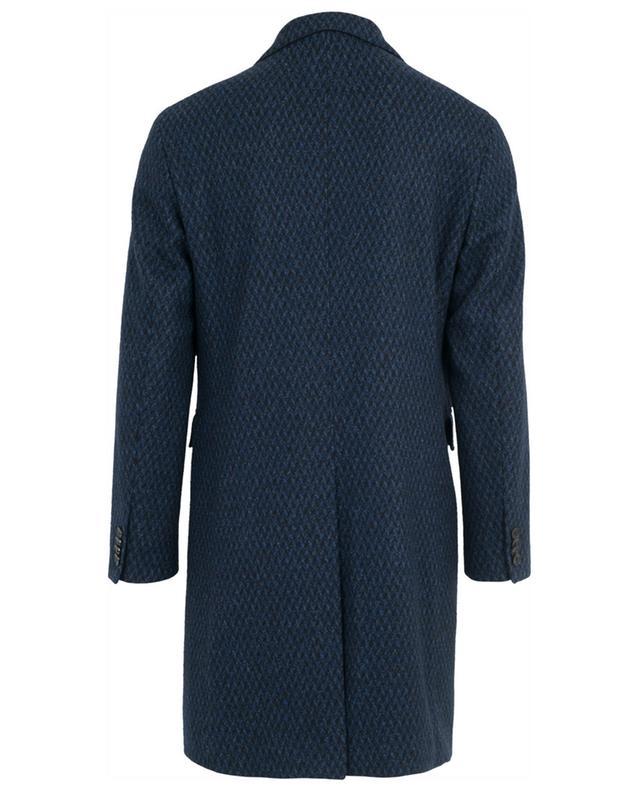 Manteau en laine mélangée motif pied-de-poule ETRO