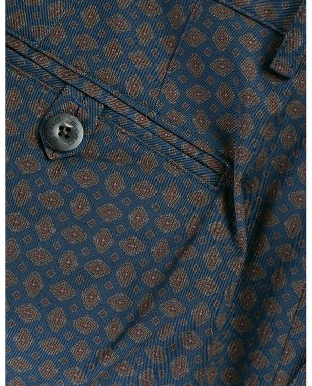 Slim-Fit Chinohose aus Baumwolle mit Print ETRO