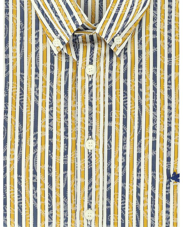 Striped long-sleeve cotton shirt ETRO