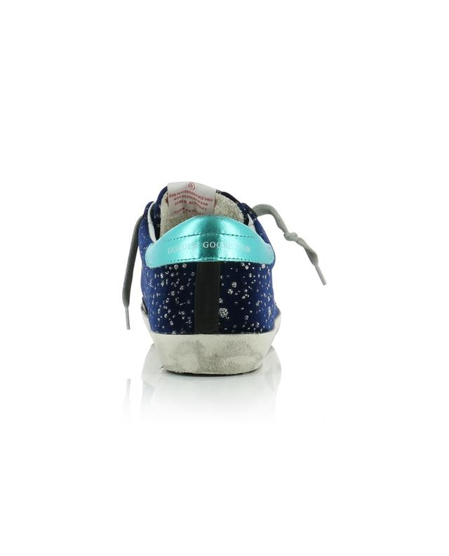 Superstar Glitter Rain velvet sneakers GOLDEN GOOSE