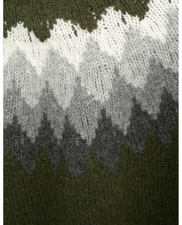 Pull shetland motif losanges Seamless OFFICINE GENERALE