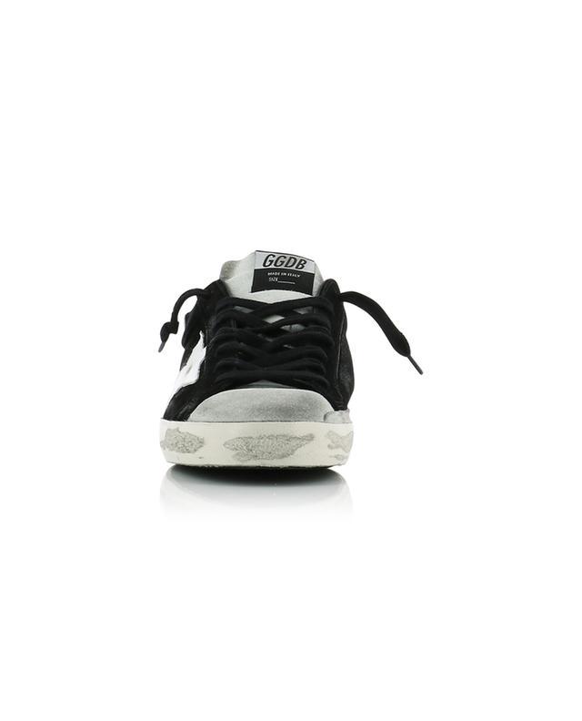 Baskets en daim noir et gris Superstar GOLDEN GOOSE