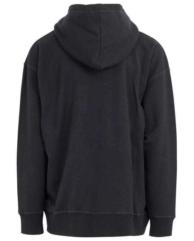 Hooded print cotton sweatshirt DSQUARED2