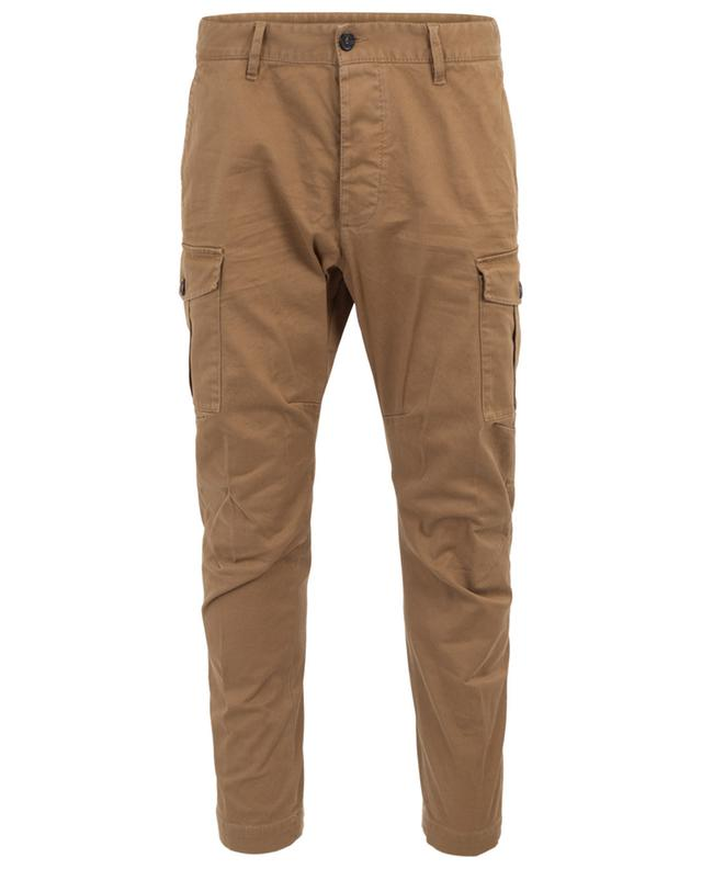 Hose im Cargo-Look aus Baumwolle DSQUARED2