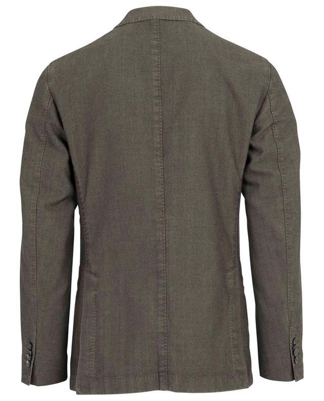 Chevron pattern cotton blend blazer BOGLIOLI