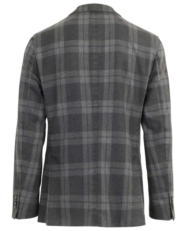 Single-breasted plaid blazer BOGLIOLI