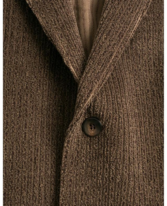 Single-breasted corduroy blazer BOGLIOLI