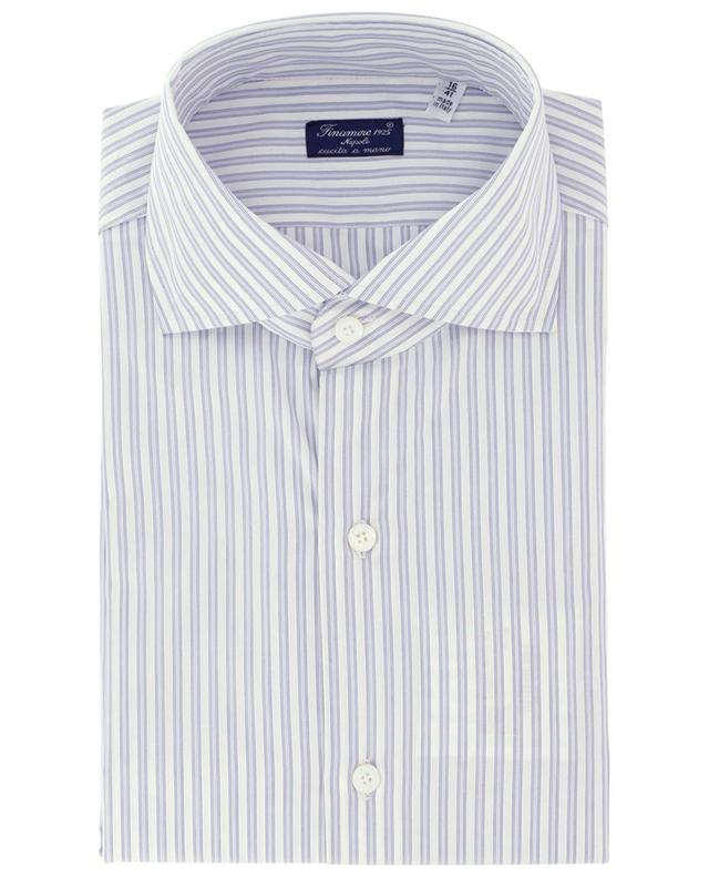 Eduardo Napoli striped cotton shirt FINAMORE
