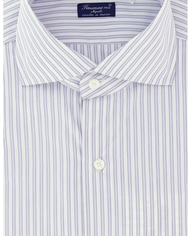 Chemise rayée en coton Eduardo Napoli FINAMORE