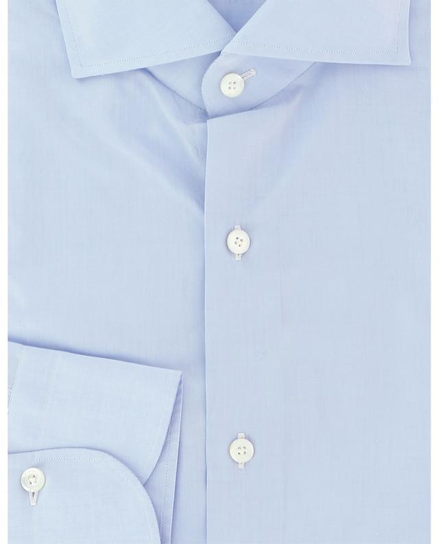 Eduardo Napoli barrel cuff cotton shirt FINAMORE