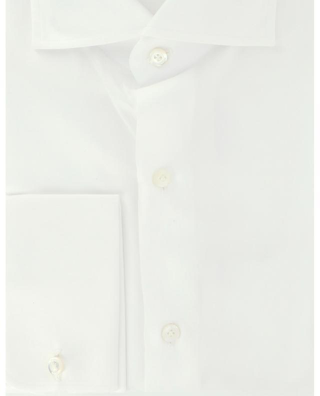 Eduardo Napoli French cuff cotton shirt FINAMORE