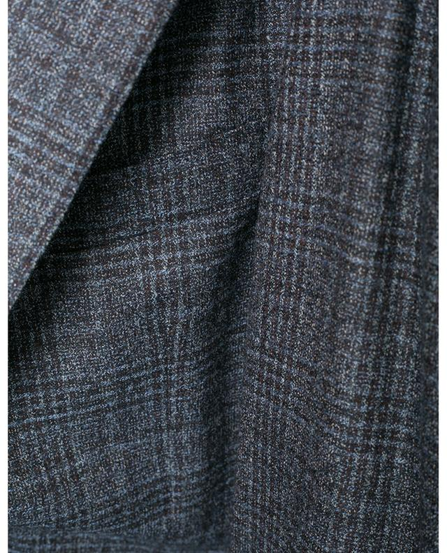 Wool print blazer BARBA