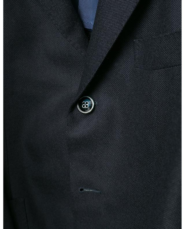 Glar textured virgin wool blazer BARBA