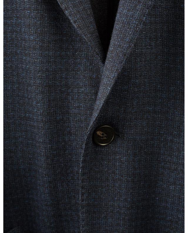 Blazer en coton et laine imprimés MAURIZIO BALDASSARI