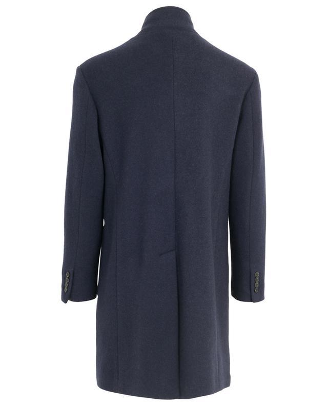 Manteau col montant en laine et cachemire MAURIZIO BALDASSARI