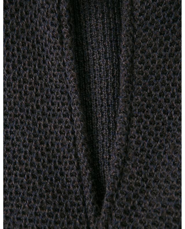 Cardigan en laine texturée MAURIZIO BALDASSARI