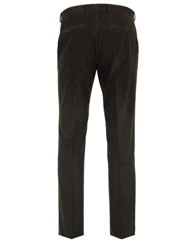 Corduroy straight trousers MAURIZIO BALDASSARI