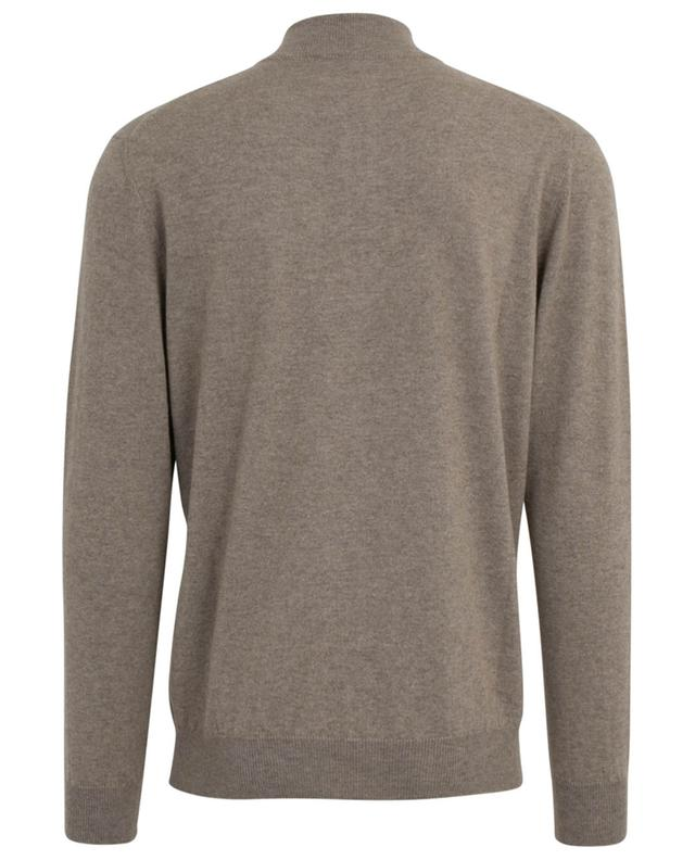 Nepi fine knit jumper with zippered stand-up collar MAURIZIO BALDASSARI