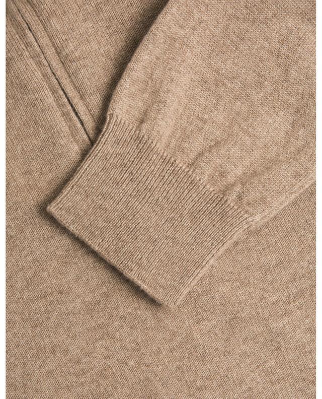 Nepi fine knit jumper with zippered stand-up collar MAURIZIO BALDASSARI
