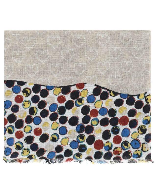 Aimée multicolour scarf STORIATIPIC