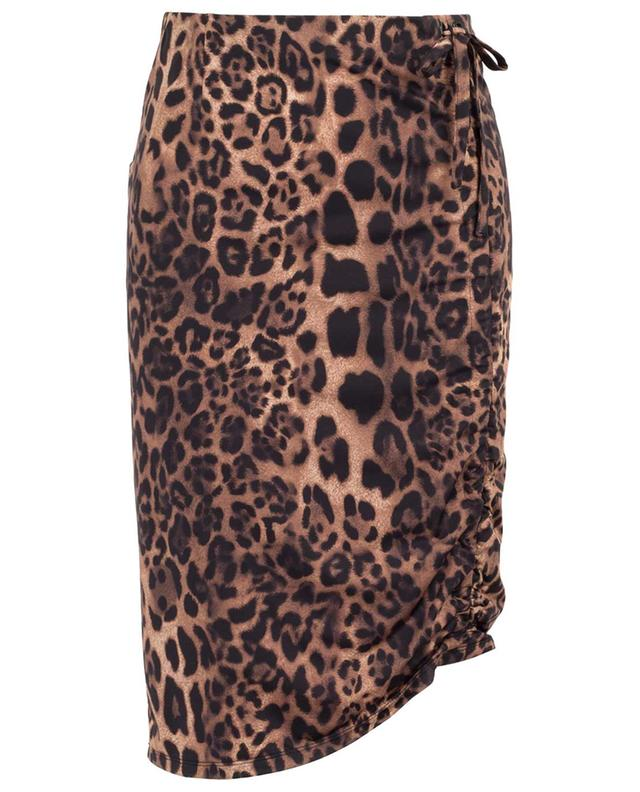 Winnie short leopard print stretch skirt SEDUCTIVE